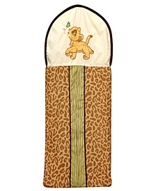 Lion King Appliqued Diaper Stacker