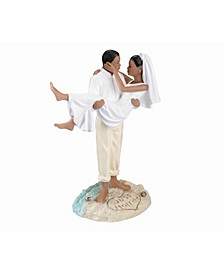 Beach Wedding Figurine - African American