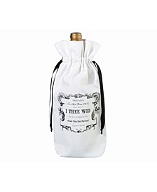 I Thee Wed Wine Bag