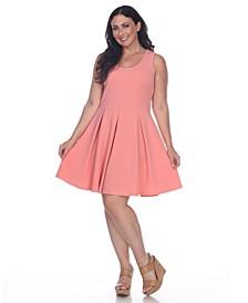 Women's Plus Size Crystal Dress
