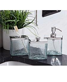 Crackle Shiny Bath Accessories
