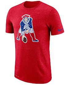 Nike Men's New England Patriots Marled Historic Logo T-Shirt