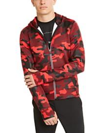 Men's Kors X Tech Zip-Front Camo Hoodie