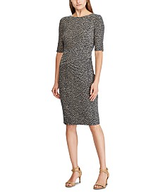 Lauren Ralph Lauren Botanical-Print Jersey Dress