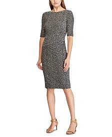 Lauren Ralph Lauren Botanical-Print Jersey Dress