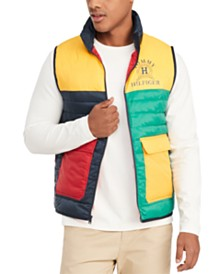 Tommy Hilfiger Men's Dahl Colorblocked Vest, Created for Macy's