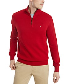 Men's Quarter-Zip Sweater, Created For Macy's