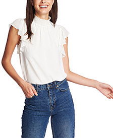 1.STATE Flutter-Sleeve Top