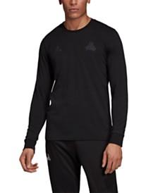 adidas Men's Tango Long-Sleeve T-Shirt