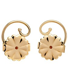 Earring Backs in 14k Gold over Sterling Silver