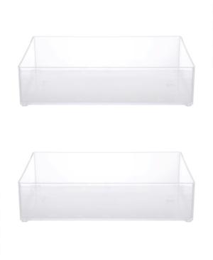 Kenney Bathroom Countertop Organizer Tray, Set of 2 Bedding