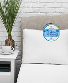 Optiblend Triple Layer Hybrid Gel-Infused Memory Foam and Fiber Pillow