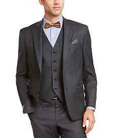 Lauren Ralph Lauren Men's Classic-Fit UltraFlex Stretch Gray Suit Jacket