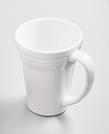 White 19 oz Bistro Latte Mug