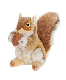 Squirrel With Nut Plush Toy