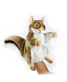 Hansa Squirrel Hand Puppet Plush Toy