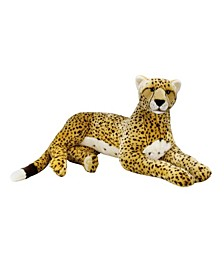 Lelly National Geographic Giant Cheetah Plush Toy