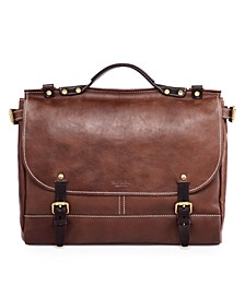 Sandstorm Leather Messenger Bag
