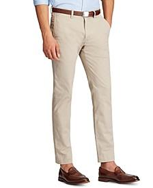 Men's Slim-Fit Stretch Chino Pants