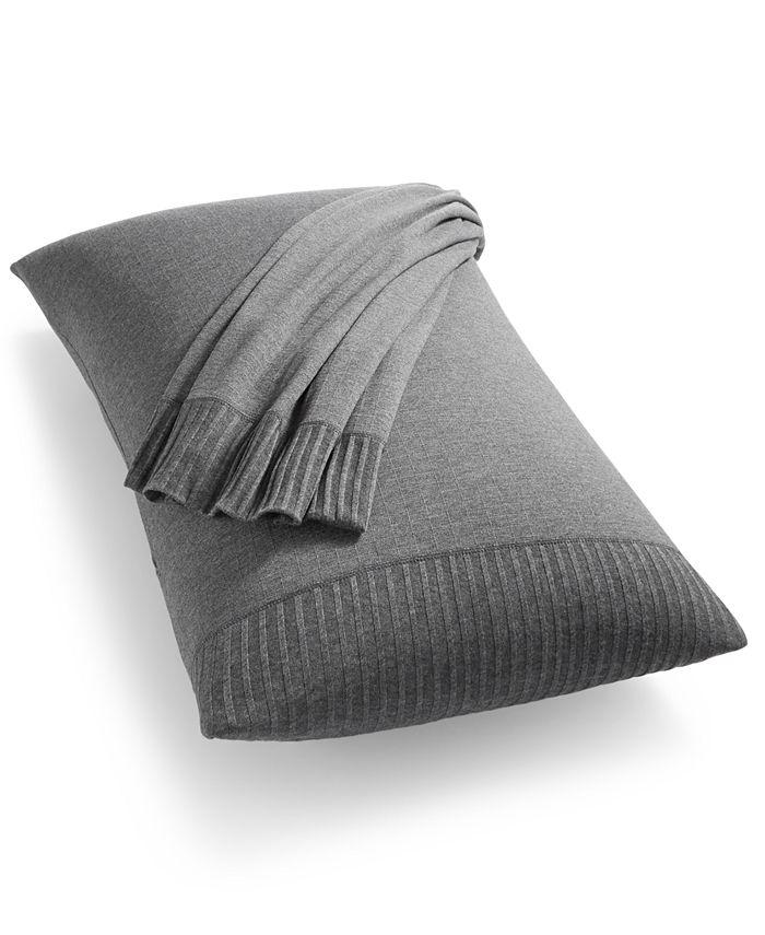 Calvin Klein - CKMC Jonas King Pillowcases Charcoal