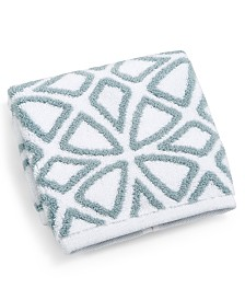 """Hotel Collection Connections Cotton 13"""" x 13"""" Wash Towel, Created for Macy's"""