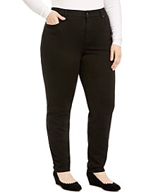 Plus Size Windham Tummy-Control Skinny Jeans, Created For Macy's