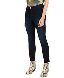 I.N.C. Skinny Ankle Jeans with Tummy Control, Created for Macy's