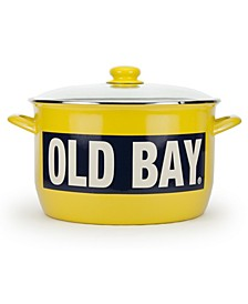 Old Bay Enamelware Collection 18 Quart Stock Pot