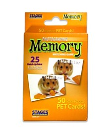 Stages Learning Materials - Picture Memory Card Game - Pets