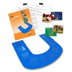 Stages Learning Materials Uplay Mat and Flashcard Set for Preschool, Autism, Aba and Speech Therapy