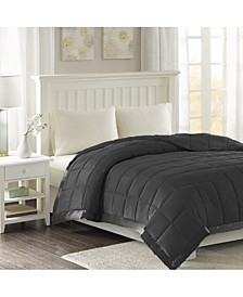 Microfiber Blanket with Satin Edge, Twin