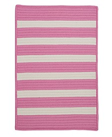 Stripe It Bold Pink 2' x 4' Accent Rug