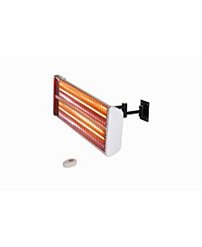 Infrared Electric Outdoor Heater - Wall Mounted