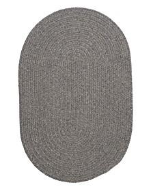 Bristol Gray 2' x 4' Accent Rug