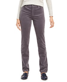 Charter Club Petite Lexington Straight-Leg Corduroy Pants, Created for Macy's