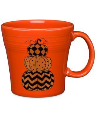Geo Pumpkin Tapered Mug