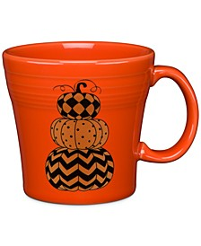 Geo Pumpkin Tapered Mug