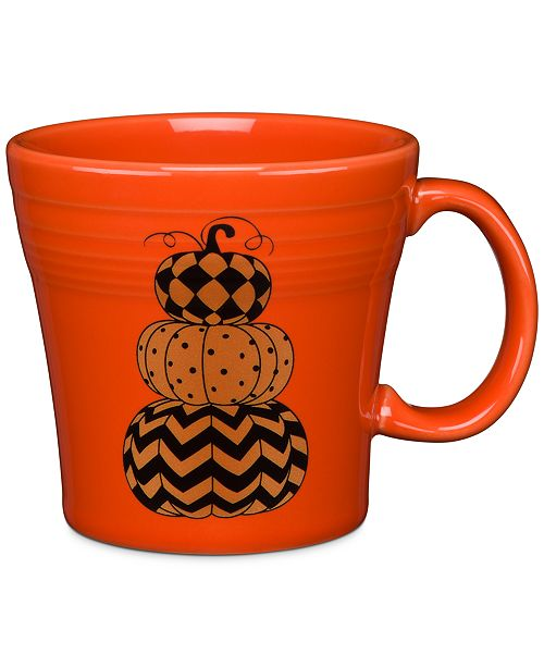 Fiesta Geo Pumpkin Tapered Mug