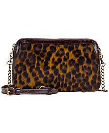 Patricia Nash Leopard Chambery Zip Crossbody