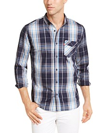 Men's Osaka Woven Plaid Shirt