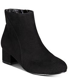 INC Little Girls Floriann Block-Heel Booties, Created for Macy's