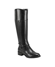 Leigh Wide Calf Riding Boots