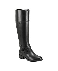 Easy Spirit Leigh Wide Calf Riding Boots