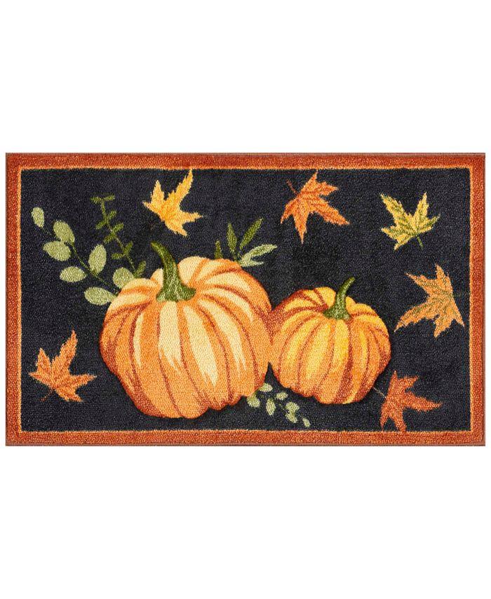 """Nourison - Black Pumpkin 18"""" x 30"""" Accent Rug"""