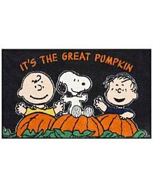 "Nourison Peanuts Pumpkin 18"" x 30"" Accent Rug"