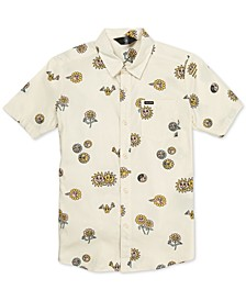 Big Boys Peace Stone Printed Shirt