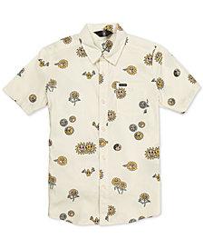 Volcom Big Boys Peace Stone Printed Shirt