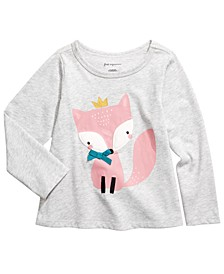 Toddler Girls Fox T-Shirt, Created for Macy's
