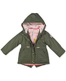Little Girls Hooded 4-In-1 Systems Jacket