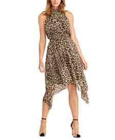 RACHEL Rachel Roy Cheetah-Print Dress